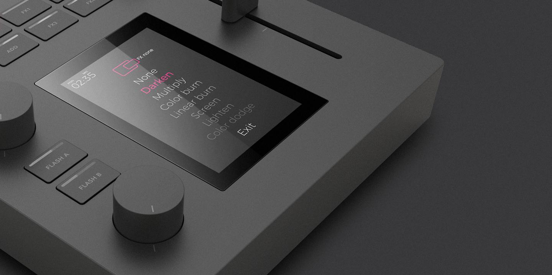 MIXXEO VJ Mixer Concept