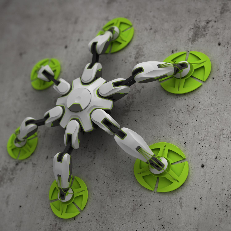 C-BOT CLIMBING ROBOT CONCEPT